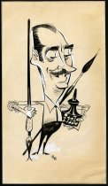 Image of [Caricature of Karl Hubenthal] - Bentovojia, Bob